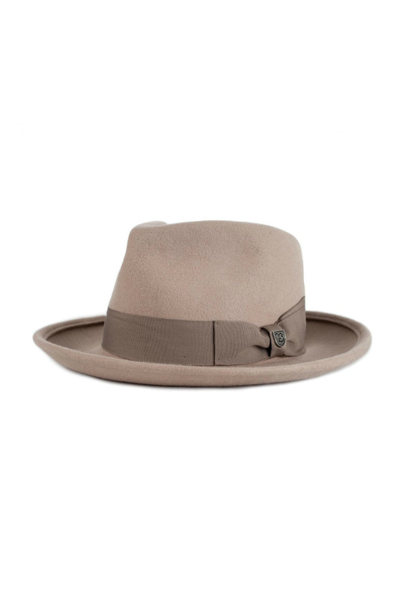 Brixton Swindle Fedora in Fawn