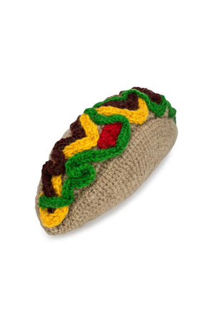Love Thy Beast Knit Taco Toy