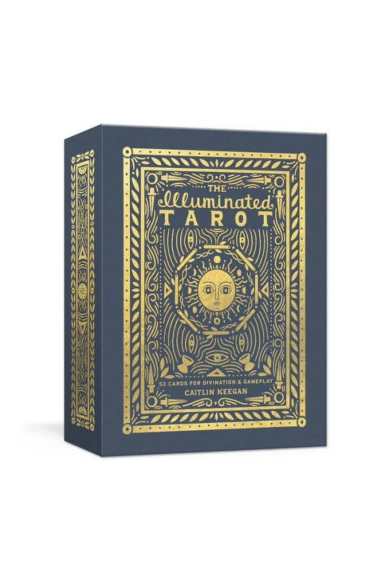 Random House The Illuminated Tarot: 53 Cards for Divination & Gameplay by Caitlin Keegan