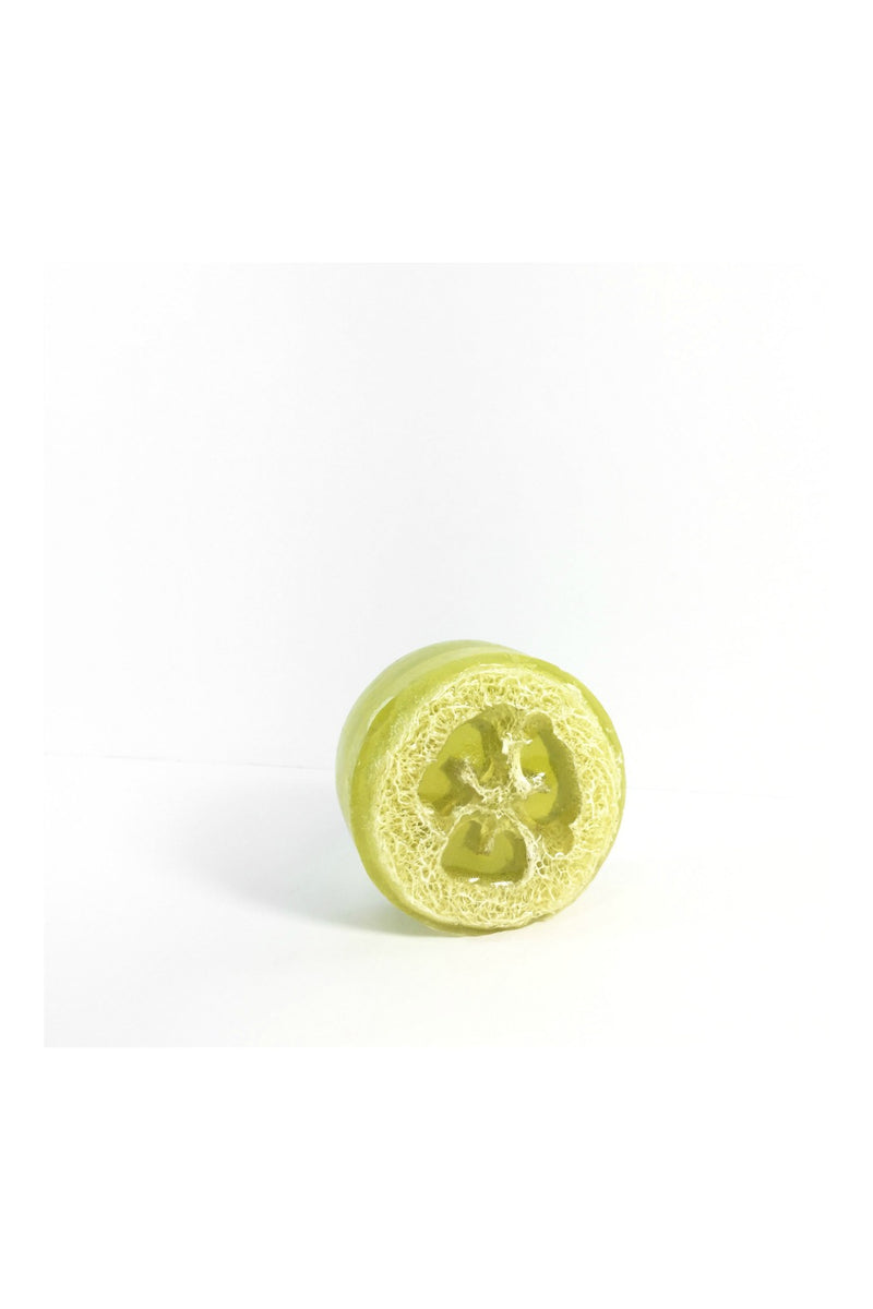 Honey Belle Loofah Soap in Green Tea Cucumber