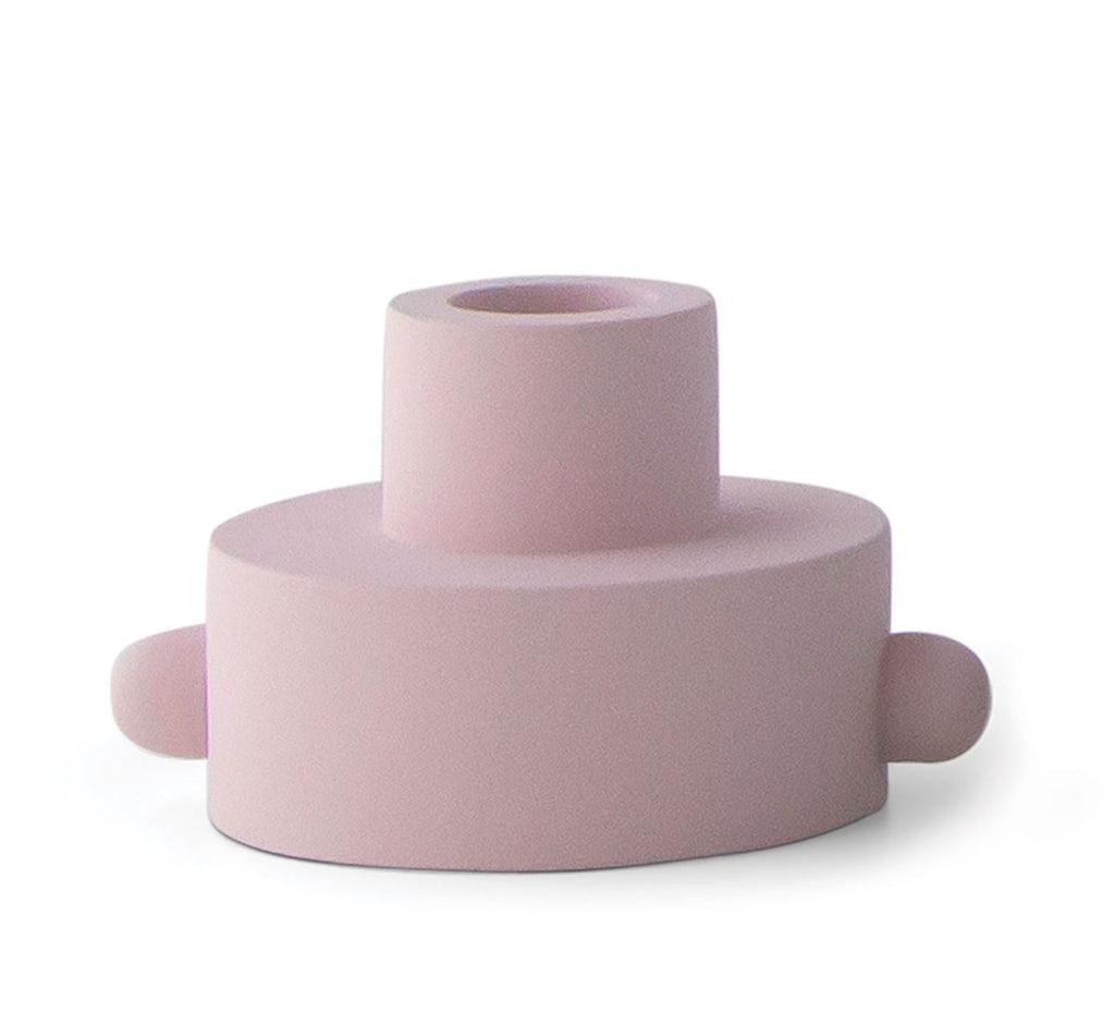 Paddywax Taper/Tea Light Candle Holder - Blush