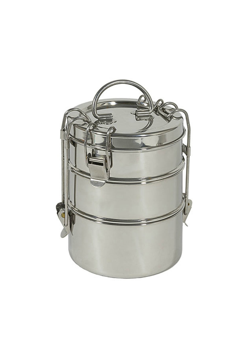 "To-Go Ware 3-Tier Snack Stack Tiffin 6 3/4"" X 4 3/4"""