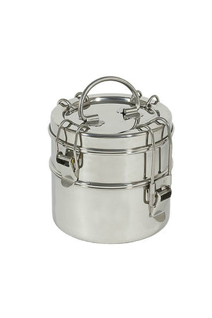 "To-Go Ware 2-Tier Snack Stack Tiffin 4 3/4"" X 5"""