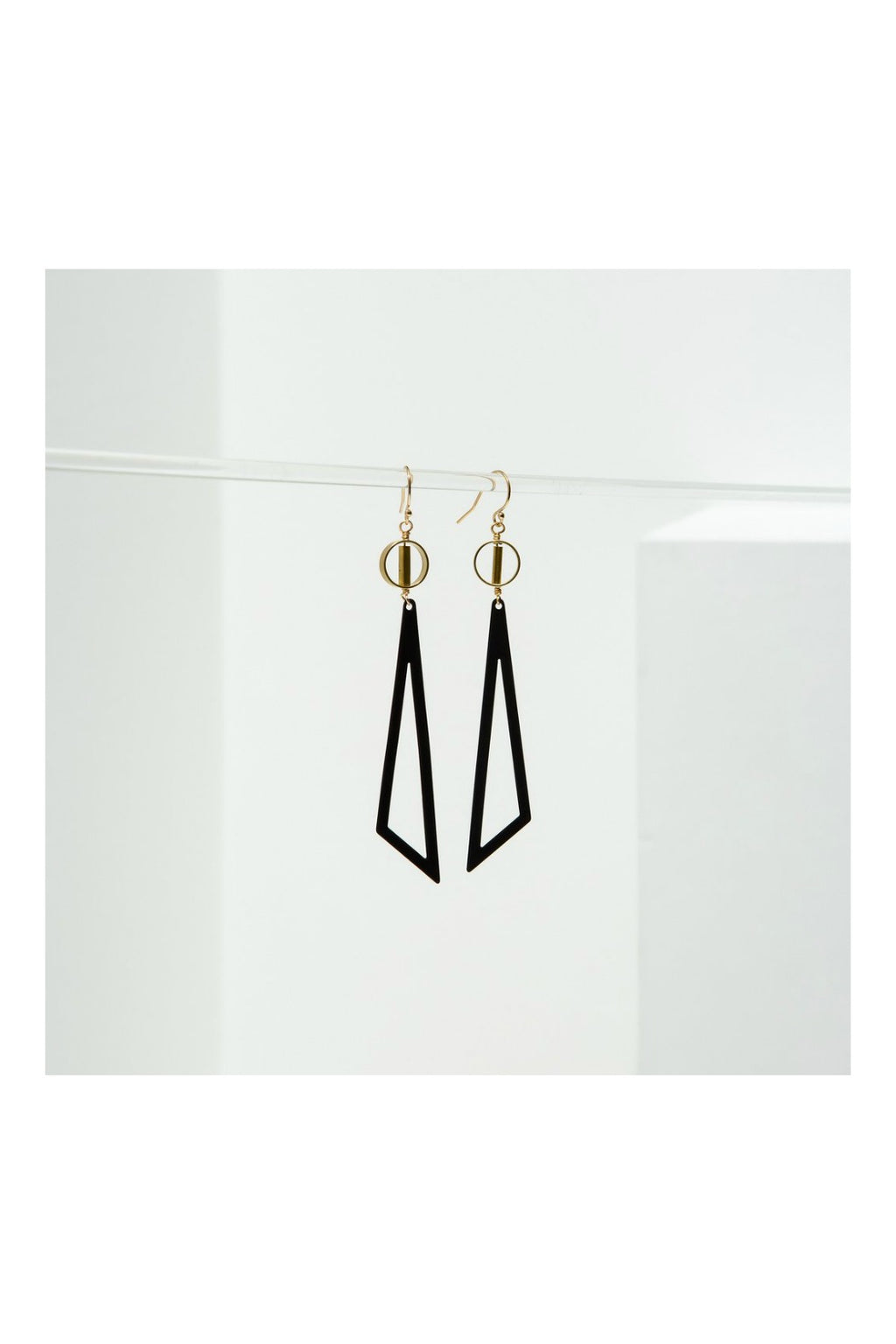 Larissa Loden Tilde Earrings - Black