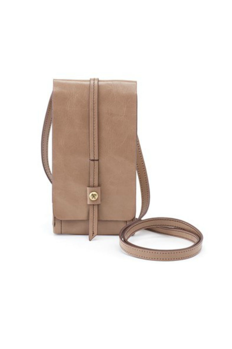 Hobo Token Wallet Crossbody - Cobblestone