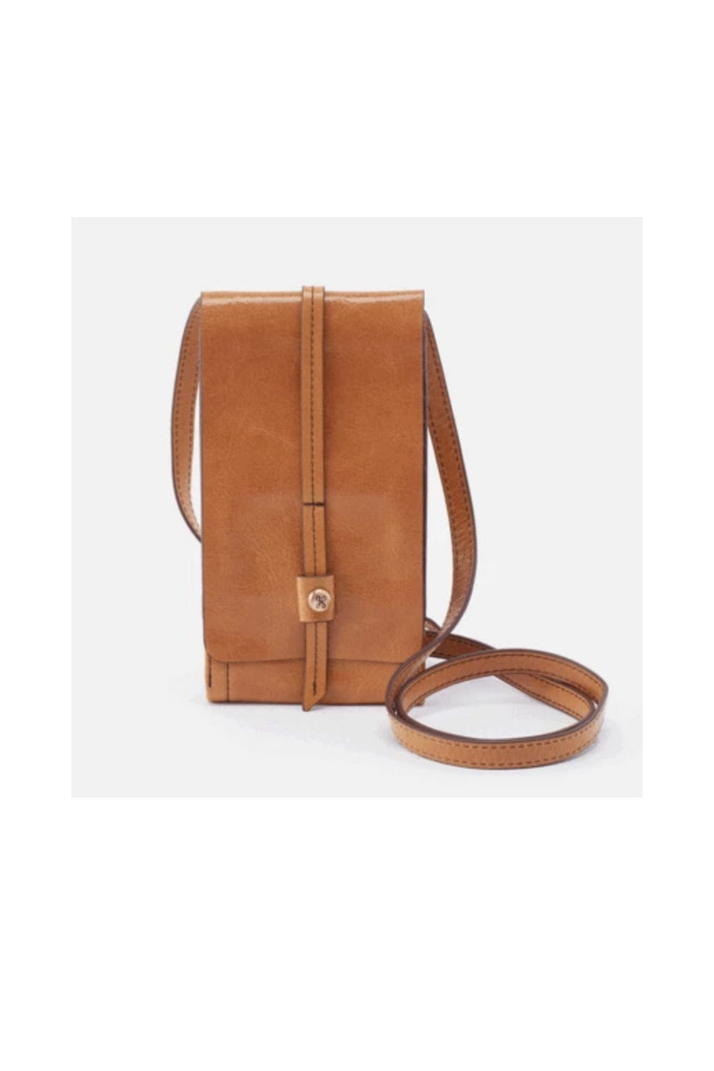 Hobo Token Wallet Crossbody - Honey