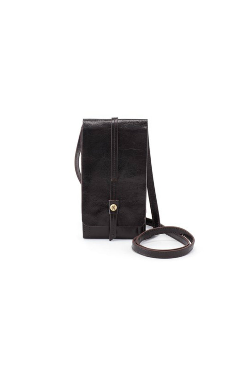 Hobo Token Wallet Crossbody - Black
