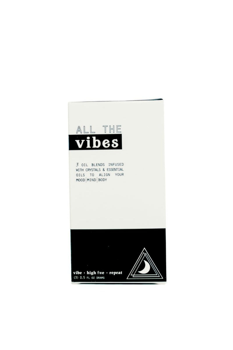 Moon Rivers Naturals All The Vibes Oil Trio