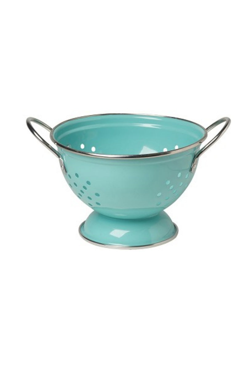 Now Designs 1 Qt. Metal Colander - Turquoise