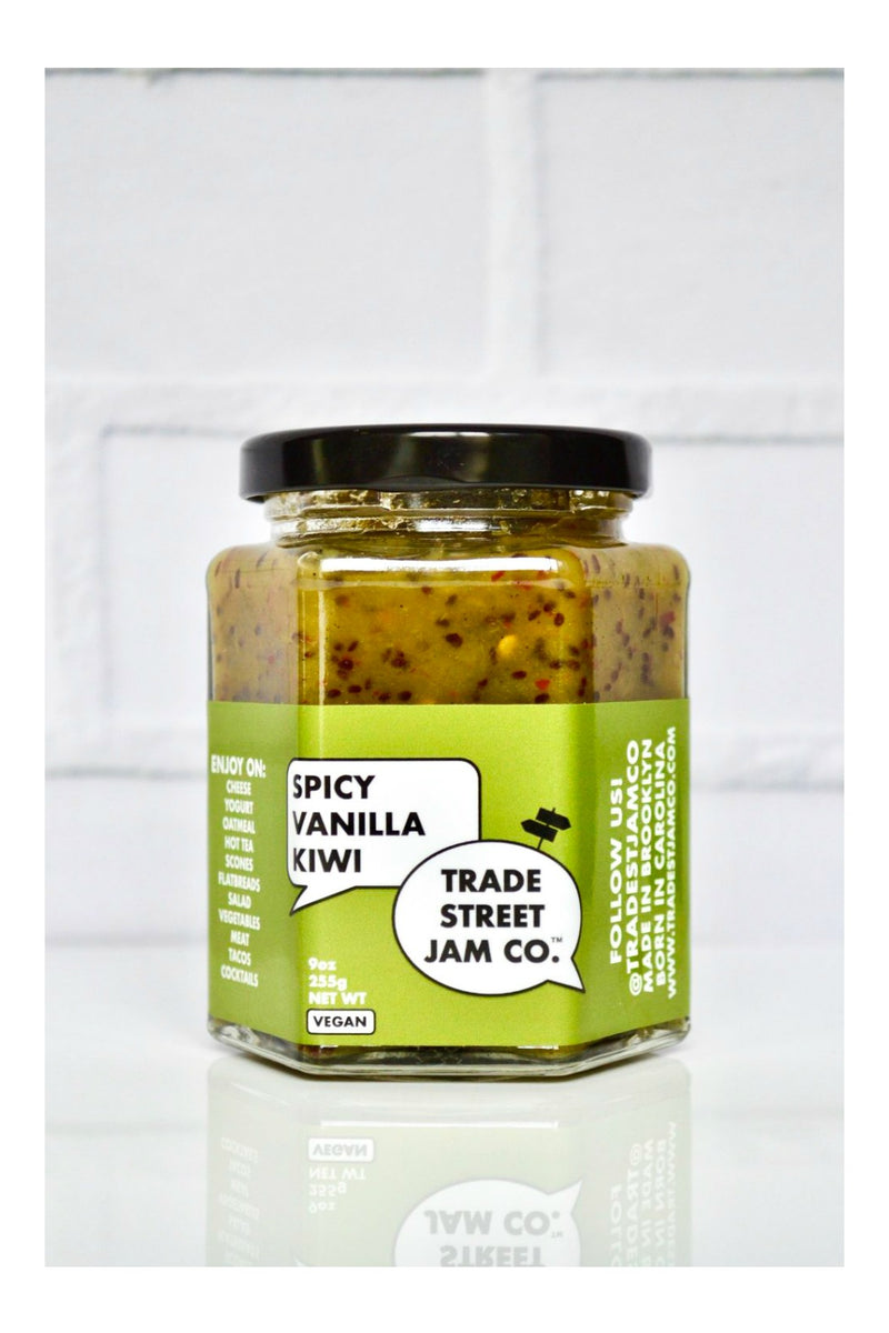 Trade Street Jam Co. Spicy Vanilla Kiwi Jam
