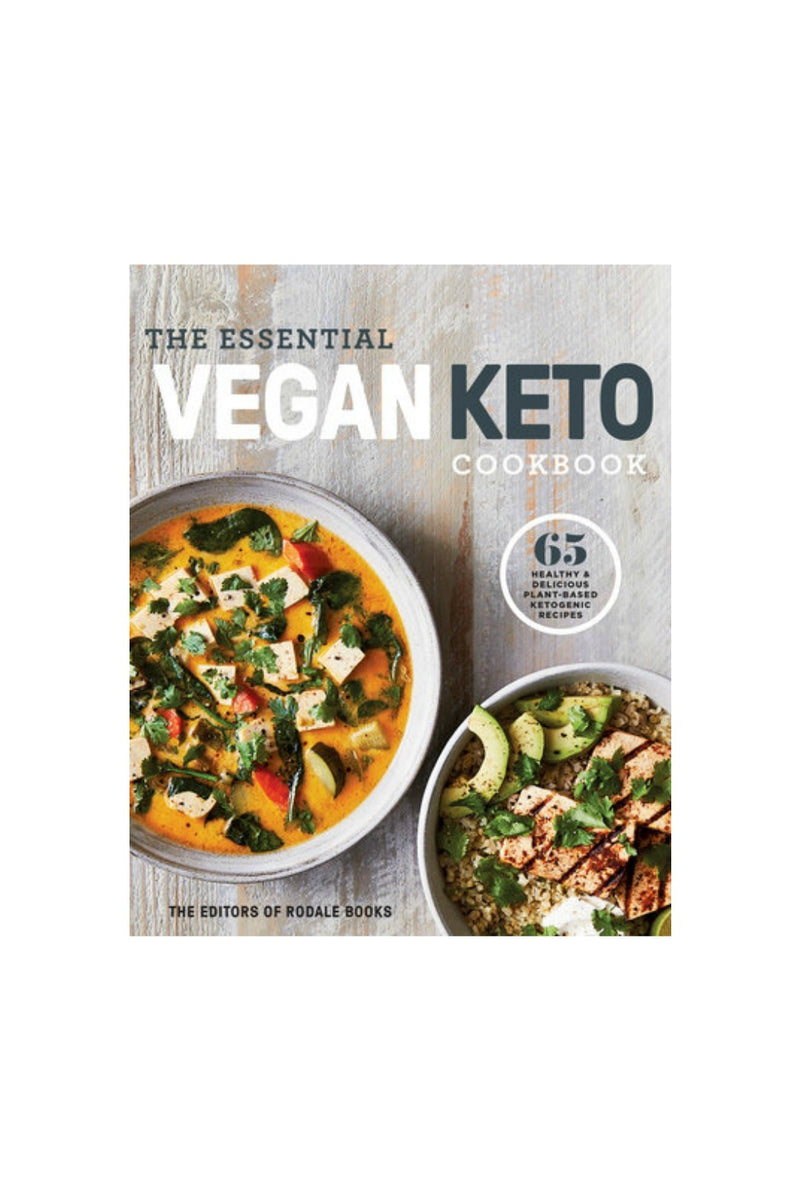 Random House The Essential Vegan Keto Cookbook by Editors of Rodale Books
