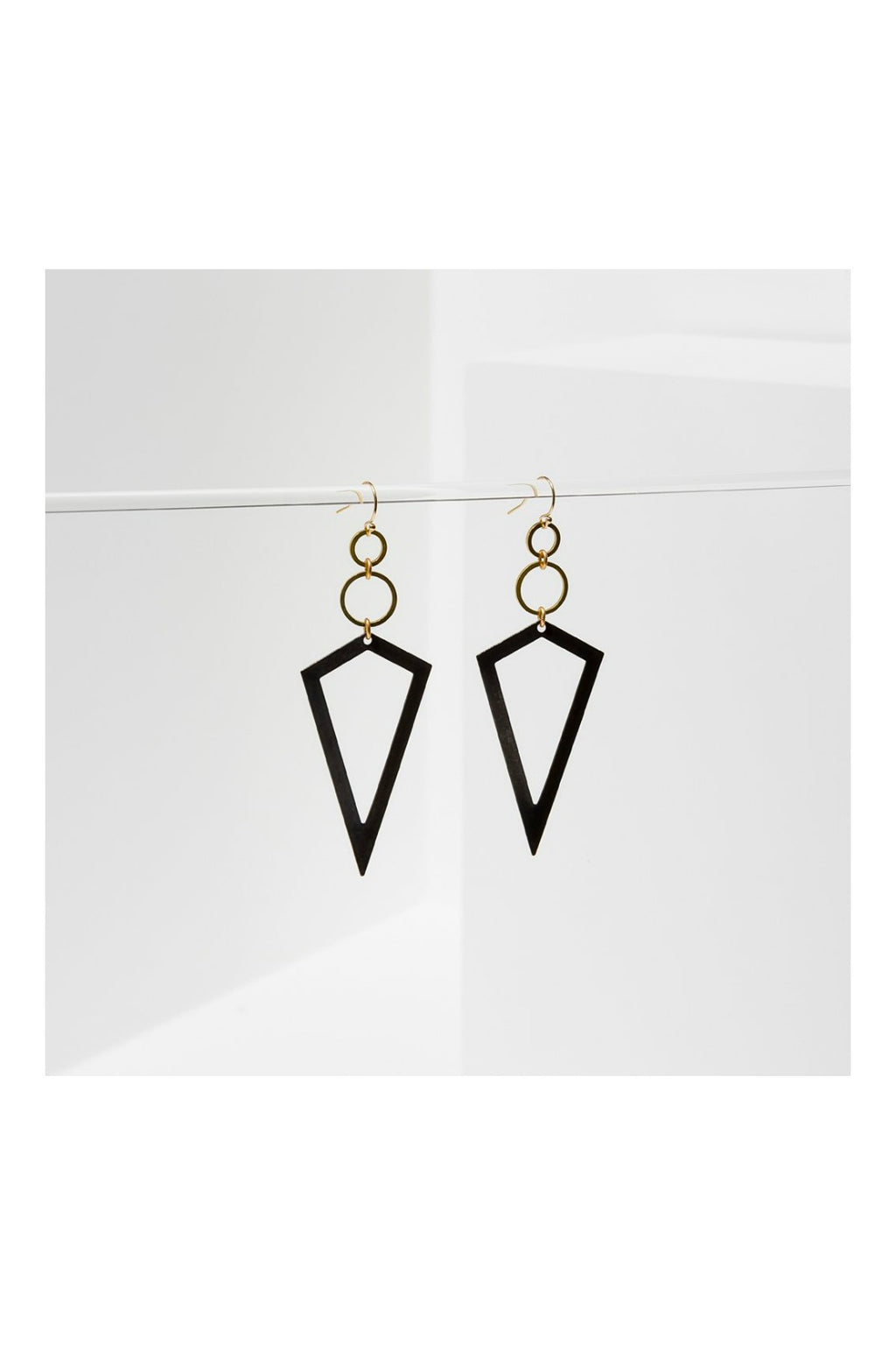 Larissa Loden Vertigo Earrings - Black