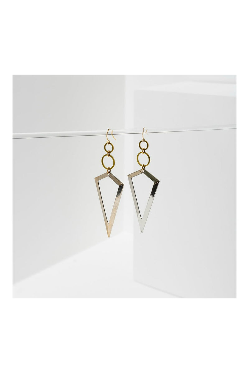 Larissa Loden Vertigo Earrings - Silver