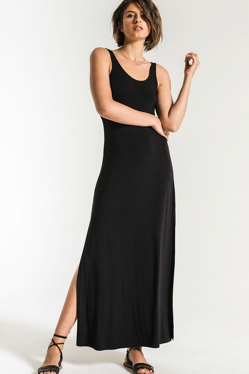 Z Supply Victoria Maxi Dress in Black