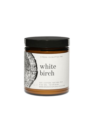 Broken Top Candle Co. 9 oz. Soy Candle - White Birch
