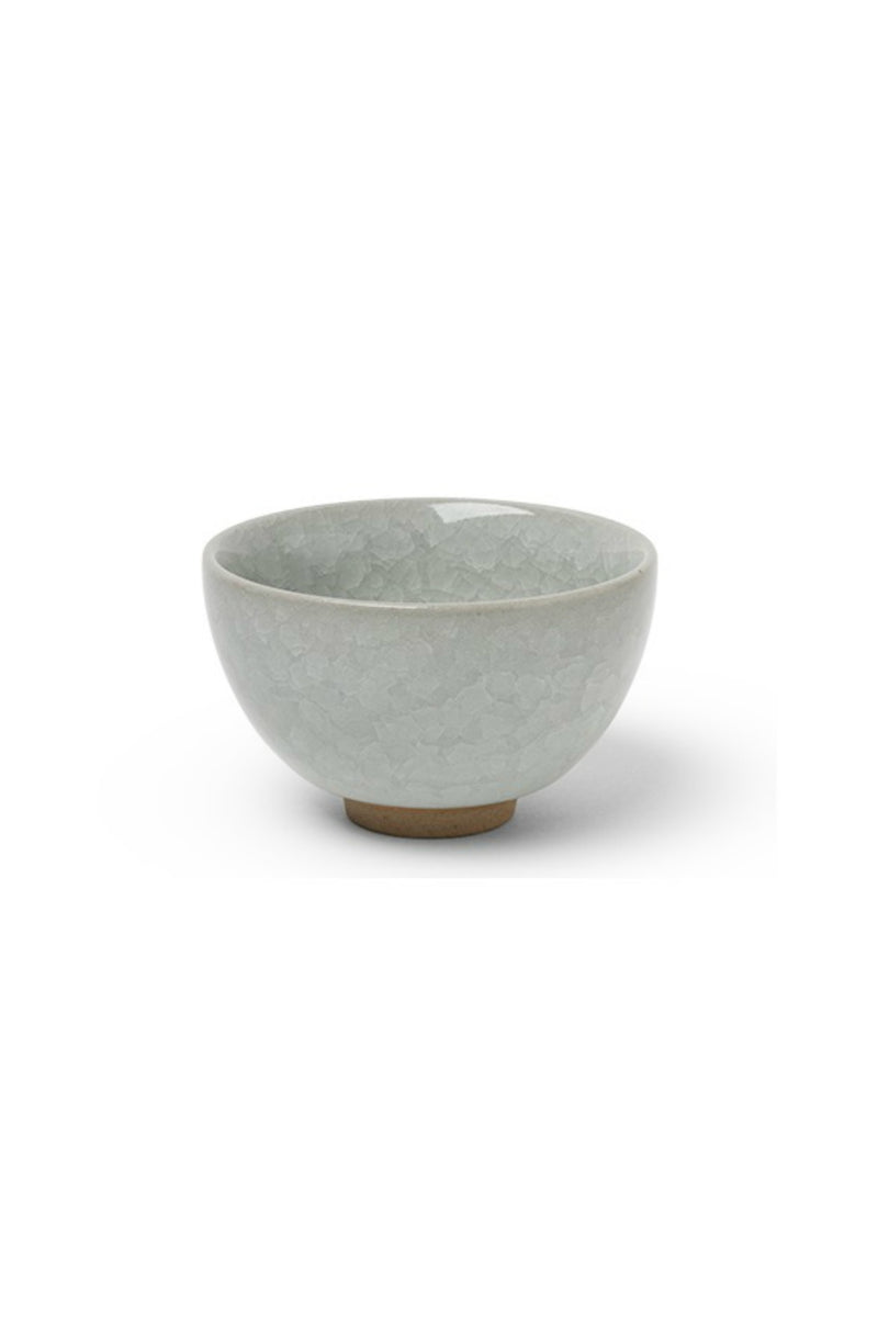 Miya Sakura Crackle Teacup - White