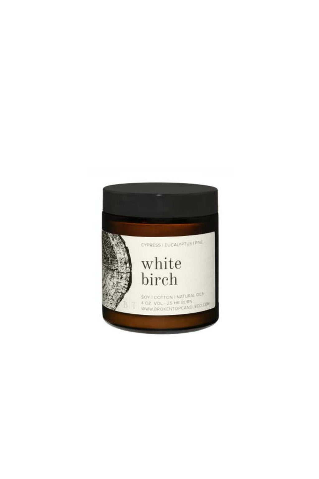 Broken Top Candle Co. 4 oz. Soy Candle - White Birch