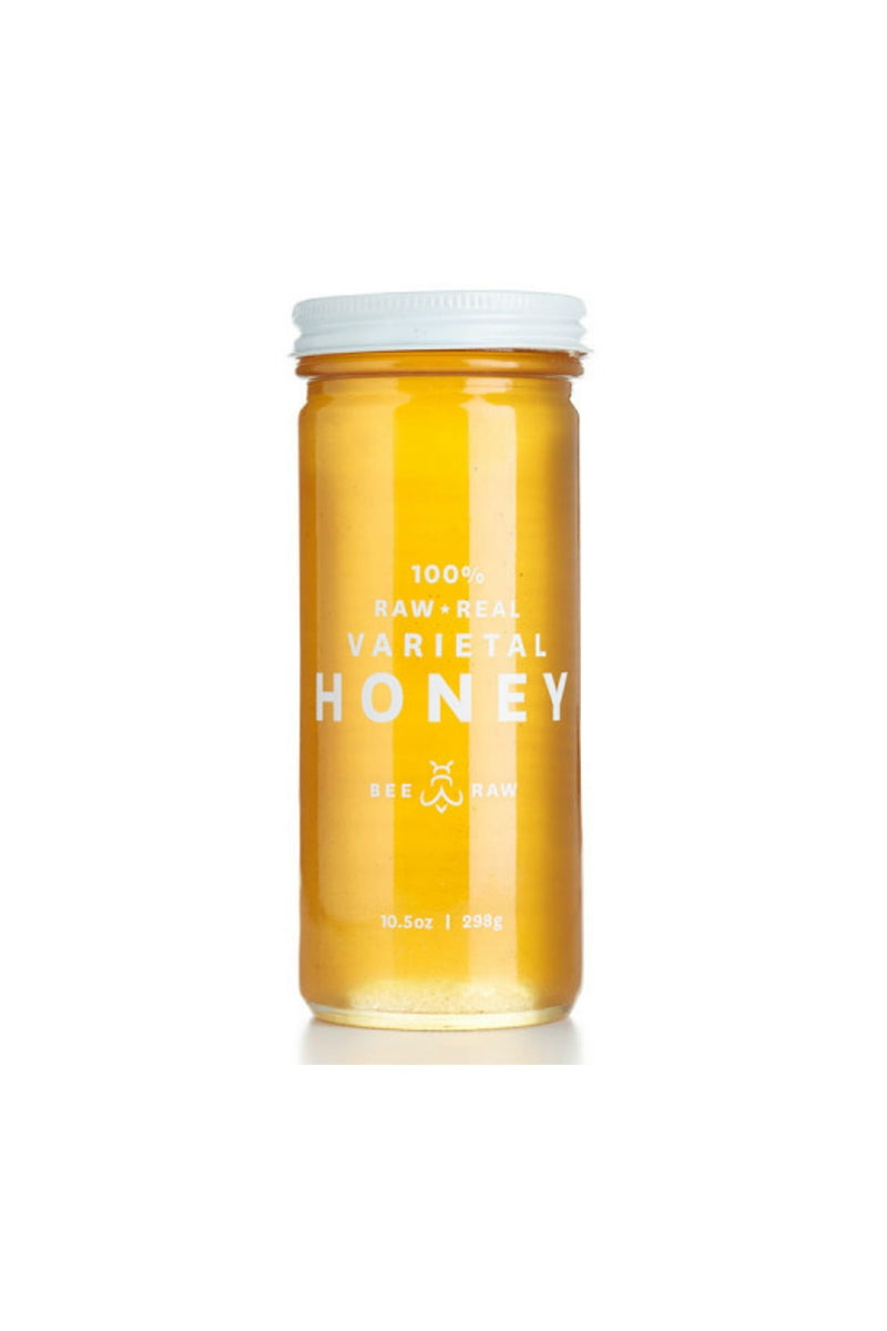 Bee Raw Honey 10.5 oz. Jar - Maine Wild Raspberry