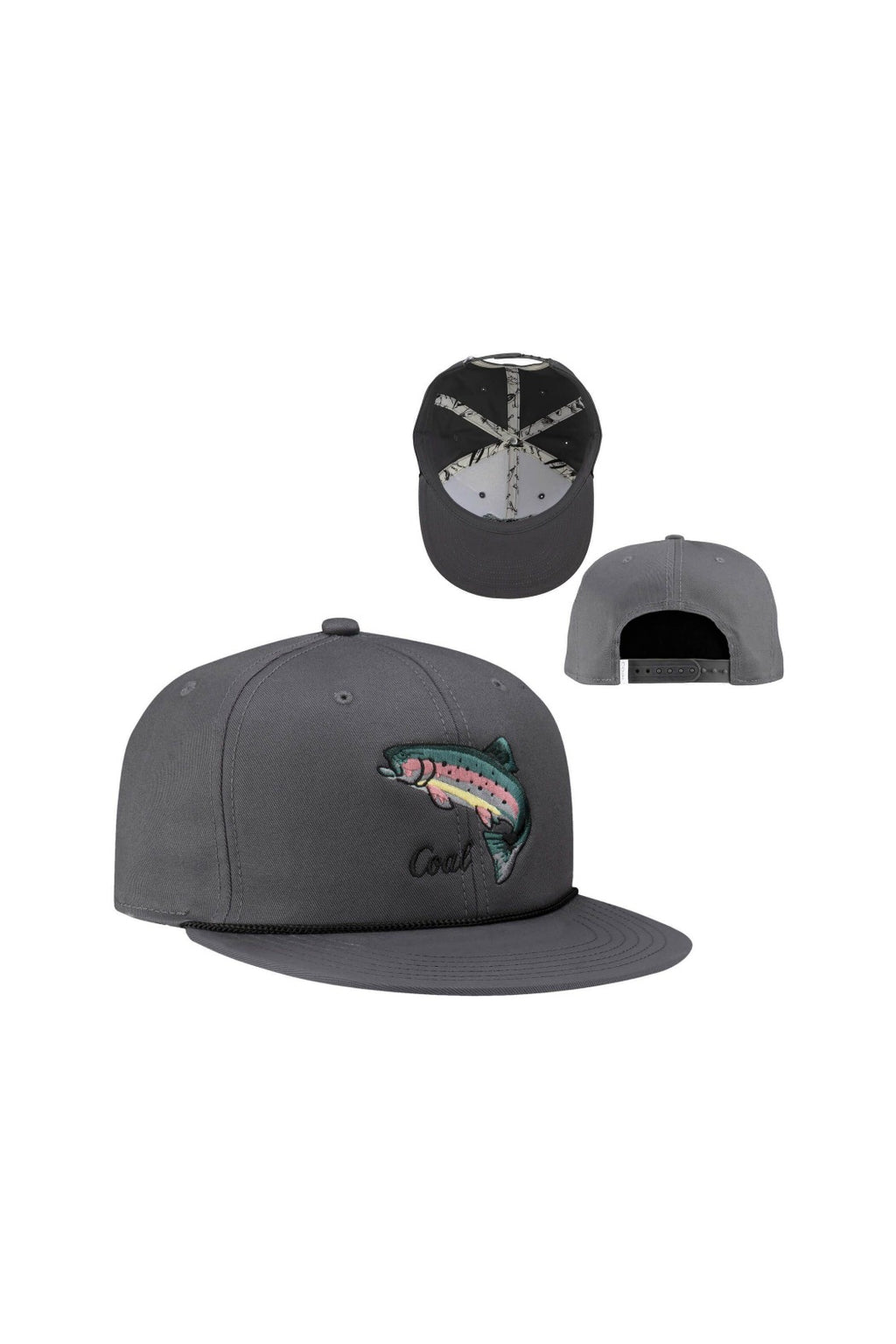 Coal The Wilds Cap - Charcoal