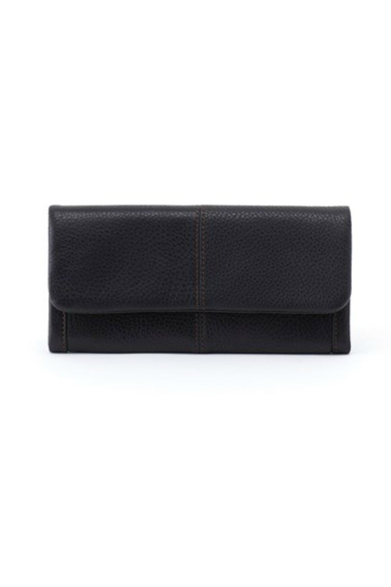 Hobo Wonder Wristlet Wallet - Black