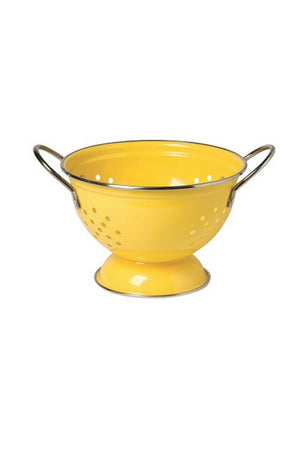 Now Designs 1 Qt. Metal Colander - Lemon