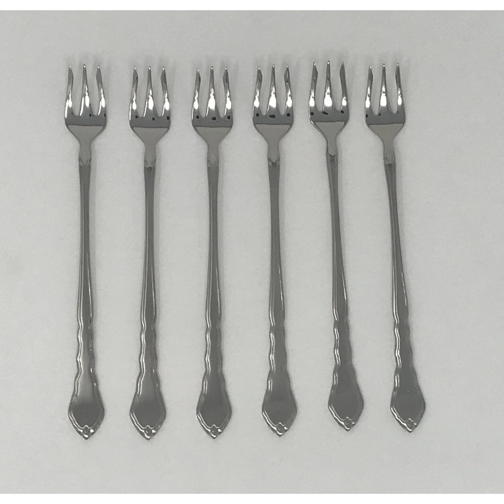 Oneida Satinique Set of 6 Seafood Forks | Extra 30% Off Code FF30 | Finest Flatware