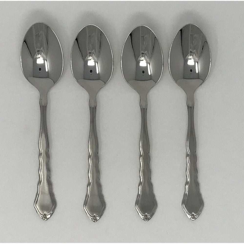 Oneida Satinique Set of 4 Teaspoons | Extra 30% Off Code FF30 | Finest Flatware
