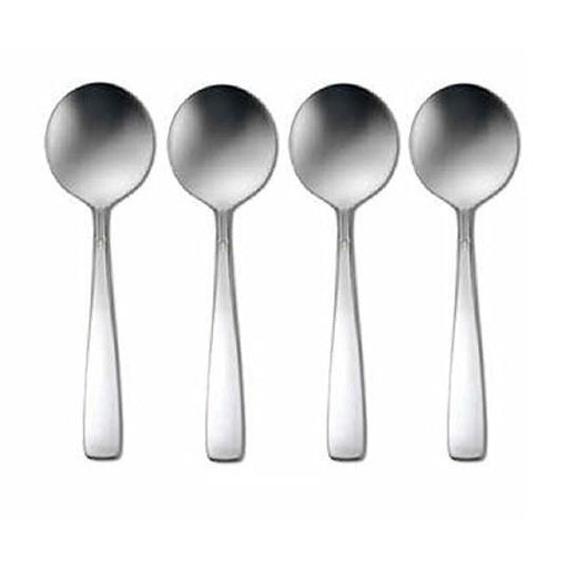 Oneida Accent Set of 4 Bouillon Spoons 18/8 Stainless | Extra 30% Off Code FF30 | Finest Flatware
