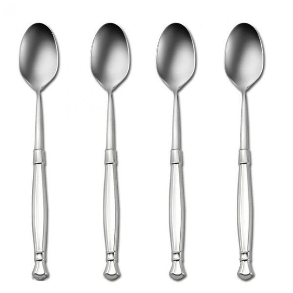 Oneida Act I Set of 4 Iced Tea Spoons | Extra 30% Off Code FF30 | Finest Flatware