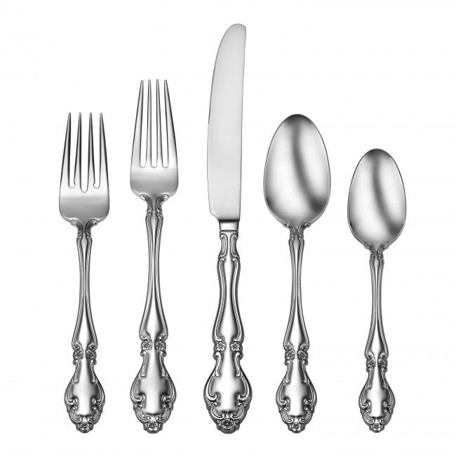 Oneida 78 Piece Adalyn 18/10 Stainless Fine Flatware Set, Service for 12 | Extra 30% Off Code FF30 | Finest Flatware