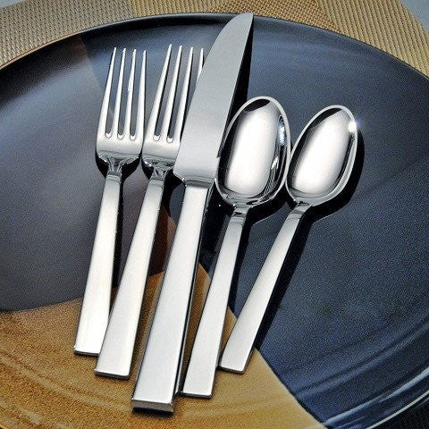Oneida Aero 45 Piece Fine Flatware Set, Service for 8 | Extra 30% Off Code FF30 | Finest Flatware