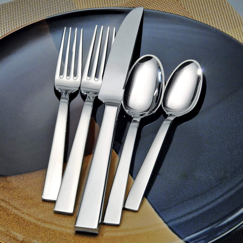 Oneida Aero 46 Piece Fine Flatware Set, Service for 8 - Extra 30% Off Code FF30 - Finest Flatware