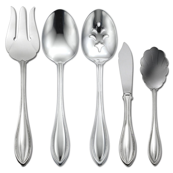 Oneida American Harmony 5 Piece Serving Set | Extra 30% Off Code FF30 | Finest Flatware
