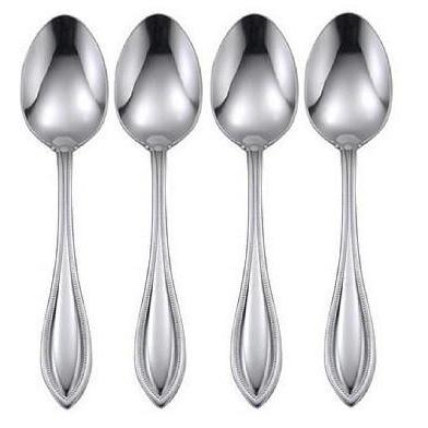 Oneida American Harmony Set of 4 Dinner Spoons | Extra 20% Off Code FF20 | Finest Flatware