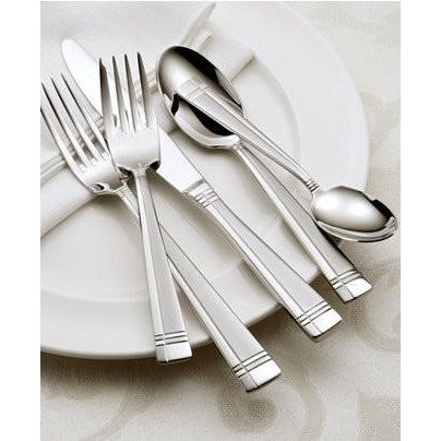 Oneida Amsterdam 20 Piece Casual Flatware Set, Service for 4 | Extra 30% Off Code FF30 | Finest Flatware