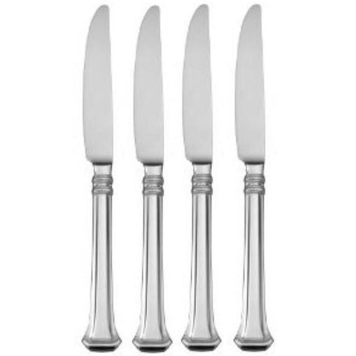 Oneida Apollonia Set of 4 Dinner Knives | Extra 30% Off Code FF30 | Finest Flatware