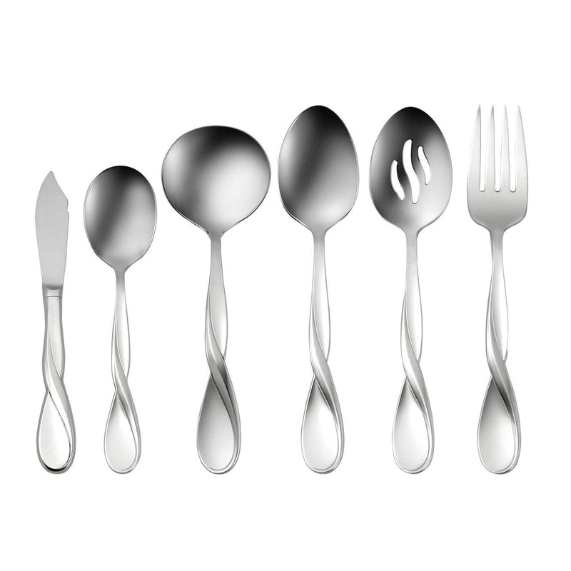 Oneida Aquarius 6 Piece Hostess and Serving Set - Extra 30% Off Code FF30 - Finest Flatware