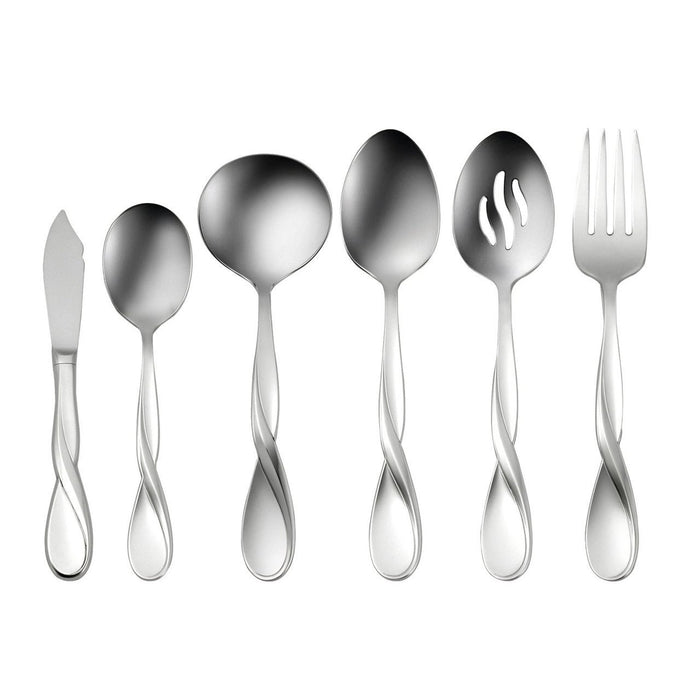 Oneida Aquarius 6 Piece Hostess and Serving Set | Extra 30% Off Code FF30 | Finest Flatware