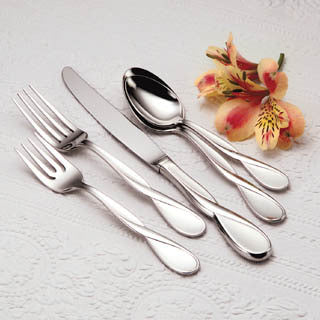 Oneida Aquarius 20 Piece Fine Flatware Set, Service for 4 | Extra 30% Off Code FF30 | Finest Flatware