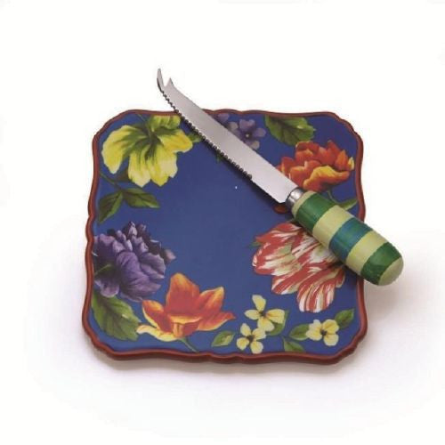 Oneida Arosa Cheese Plate with Knife | Extra 30% Off Code FF30 | Finest Flatware