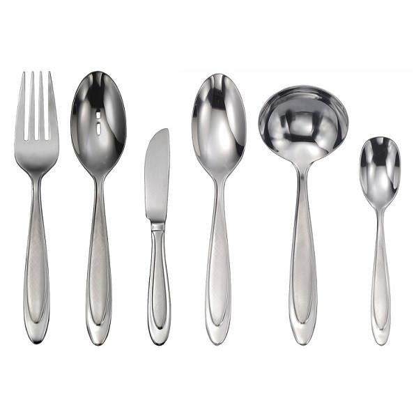 Oneida Aurora 6 Piece Hostess & Serving Set - Finest Flatware - Extra 30% Off Code FF30