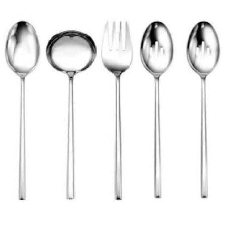 Oneida 5 Large Roman Banquet 18/10 Stainless Serving Pieces - Extra 30% Off Code FF30 - Finest Flatware