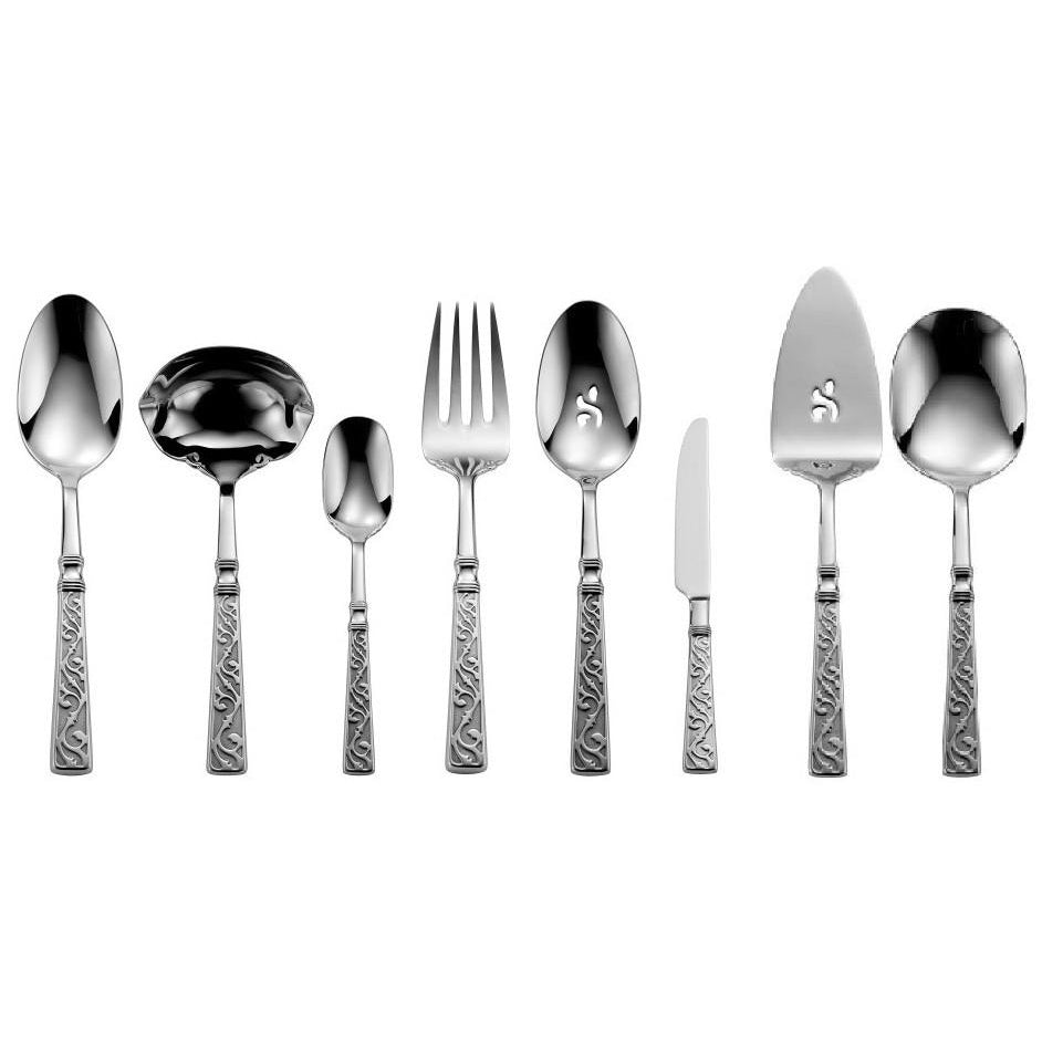 Oneida Castellina 68 Piece Fine Flatware Set, Service for 12 | Extra 30% Off Code FF30 | Finest Flatware