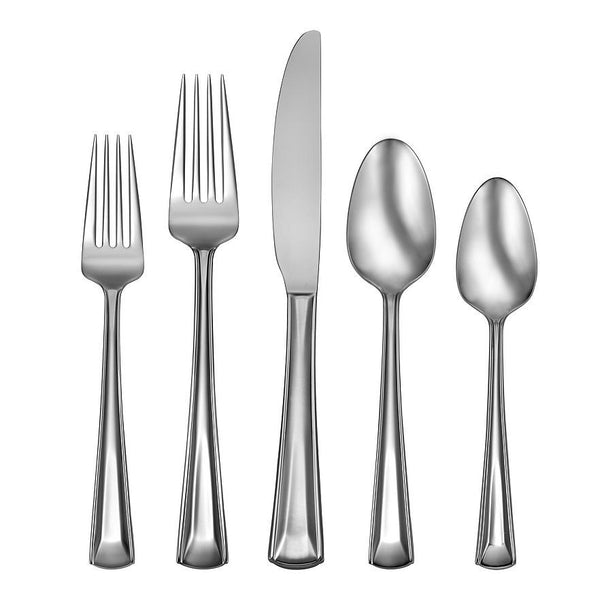 Oneida Cella 62 Piece Casual Flatware Set, Service for 12 | Extra 30% Off Code FF30 | Finest Flatware