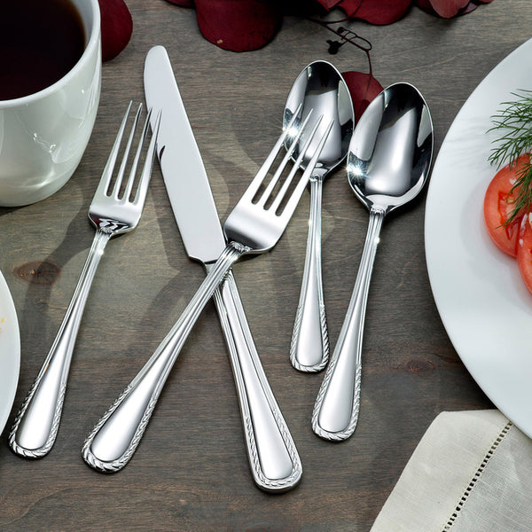 Oneida Circa 20 Piece Casual Flatware Set, Service for 4 | Extra 30% Off Code FF30 | Finest Flatware