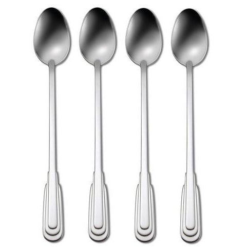 Oneida Cityscape Set of 4 Iced Tea Spoons | Extra 30% Off Code FF30 | Finest Flatware