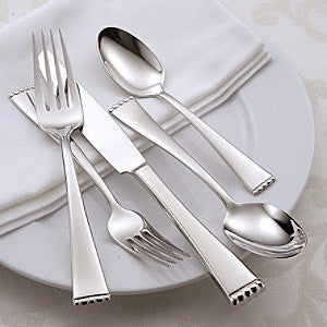 Oneida Classic Pearl 66 Piece Fine Flatware Set, Service for 12 | Extra 30% Off Code FF30 | Finest Flatware