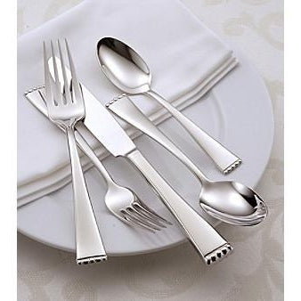 Oneida Classic Pearl 23 Piece Fine Flatware Set, Service for 4 with Hostess Set | Extra 30% Off Code FF30 | Finest Flatware