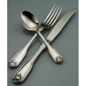 Oneida Classic Shell 5 Piece Fine Flatware Set, Service for 1 | Extra 30% Off Code FF30 | Finest Flatware