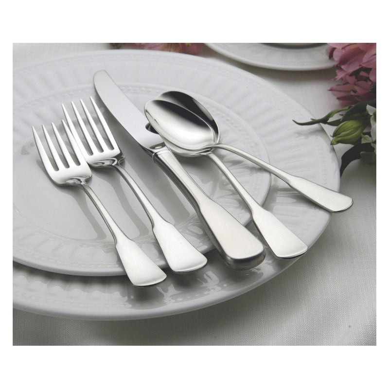 Oneida Colonial Boston 65 Piece Casual Flatware Set, Service for 12 - Finest Flatware - Extra 30% Off Code FF30